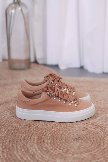 Marostica Low Light Beige Suede