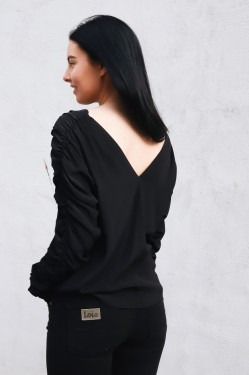 Zahra Shirt Black