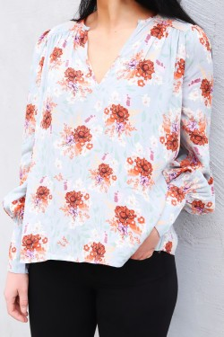 Violet Blouse Moonflower