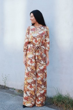 Jaquard Jumpsuit Autumn Forest