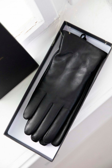 Piper Leather Gloves Black