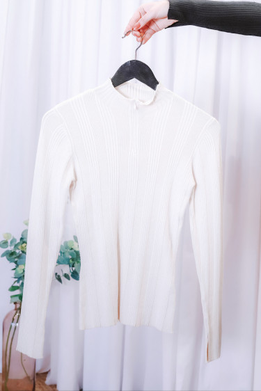 Sole Sweater White
