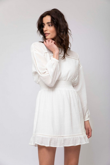 Julie Dress White