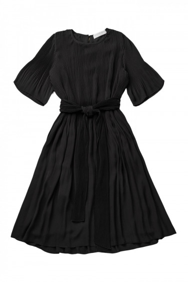Miami dress w/ short sleeves Black