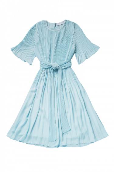 Miami dress w/ short sleeves Light Blue