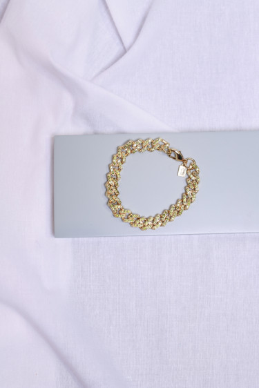 Mexican chain bracelet olive