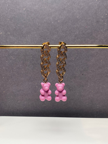 Nostalgia Earring Candy Pink