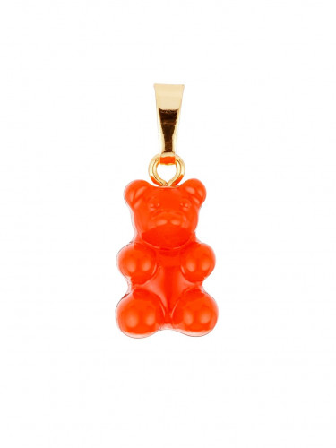 Nostalgia Bear Pendant Red