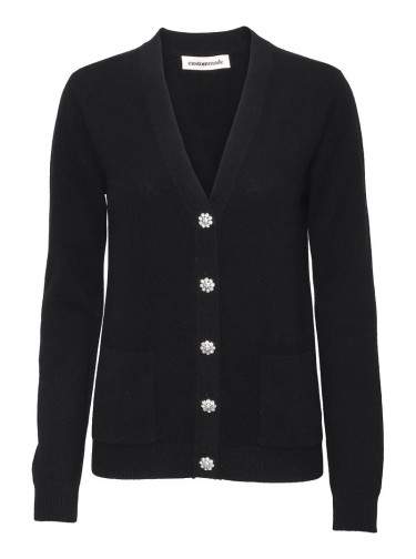 Aisha Cardigan Black