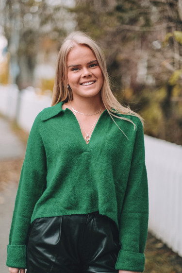 Marylou Pullover Jolly Green