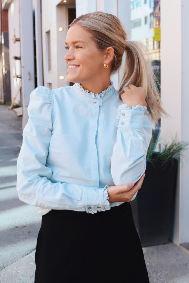 Hania Denim Blouse