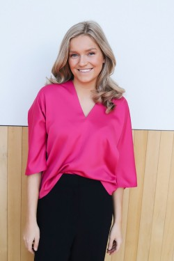 Day Heather Blouse Think Pink