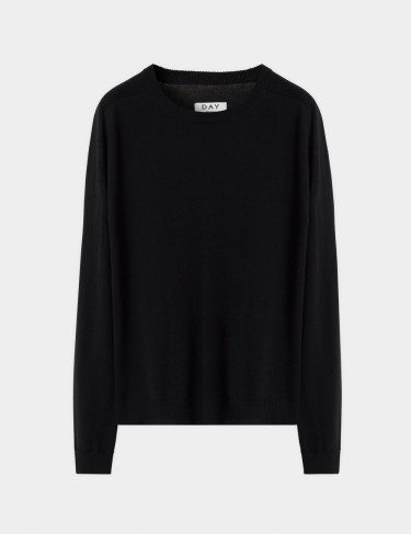 DAY Whitney Pullover Black