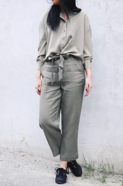 Signy Trouser Silver Sage