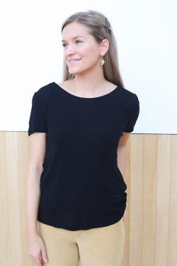 Siren Basic Tee Black