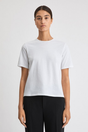 Annie Cotton T-shirt White