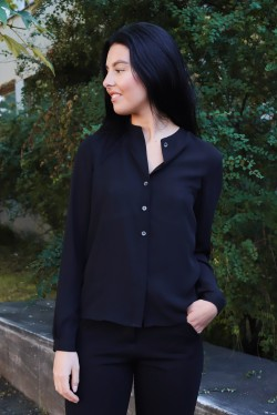 Adele Blouse Black
