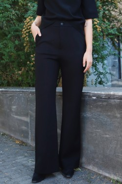 Ivy Jersey Trouser Black