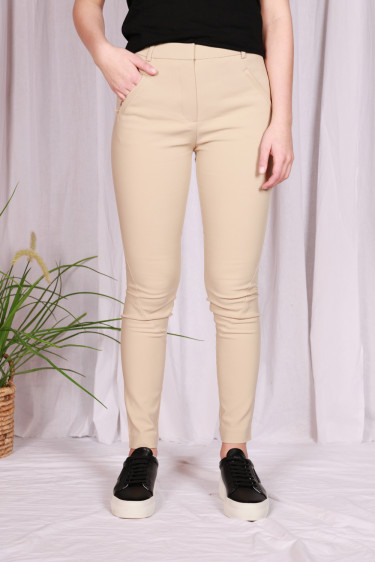 Angelie Pant 238 White Pepper