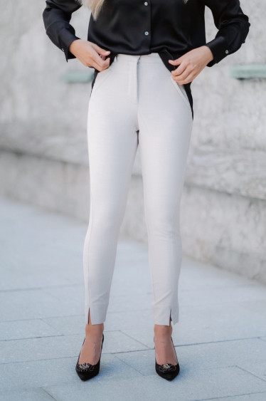 Angelie 396 Split Plaza Teardrops Pants