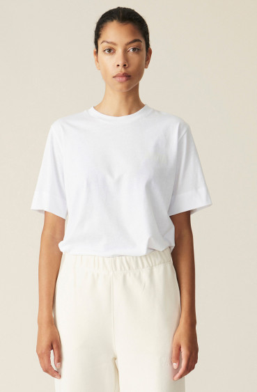 Thin Software Jersey T-shirt White
