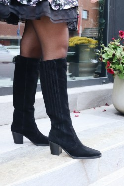 Western Boots Knee High