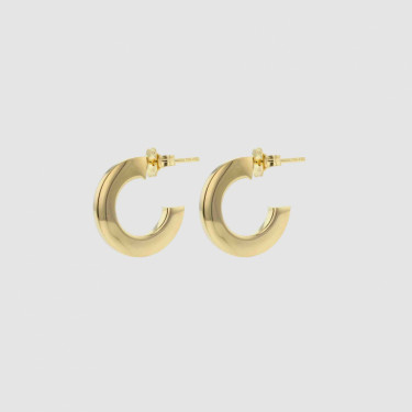 FACES PERSONA HOOPS GOLD
