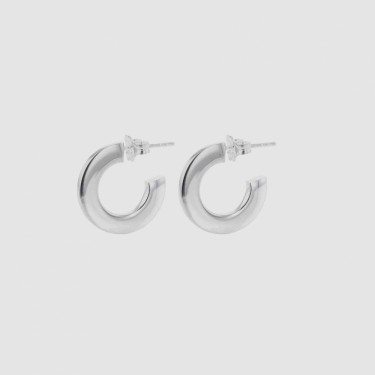 FACES PERSONA HOOPS SILVER