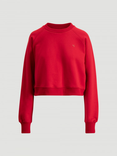 Croppy Sweat Red