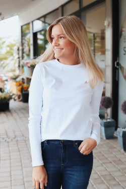 Skarn Cotton Longsleeve White