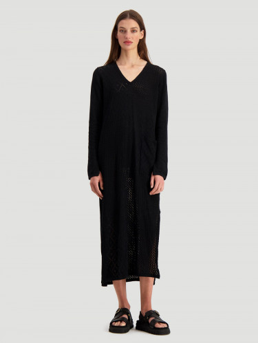 Nim Dress Black