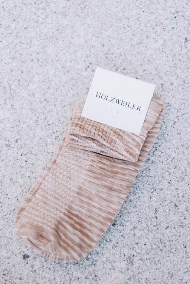 Hanger Space Short Sock Sand