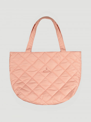 Hanger Tote Small Washed Pink