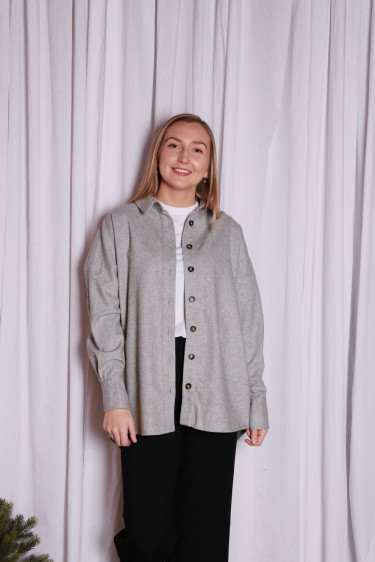 Harlow Shirt Flint Grey