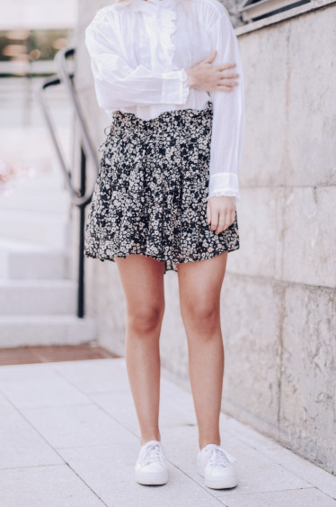Itelo Skirt Black