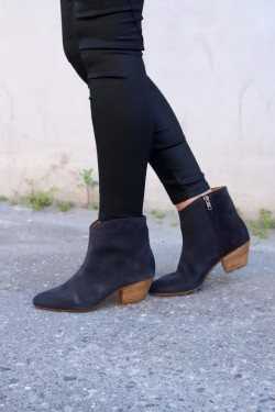 DACKEN Low Boots Faded Black