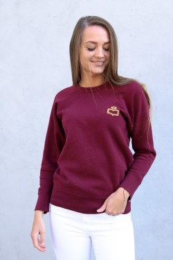 ROMER Sweat Shirt Burgundy