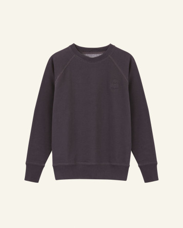 Milly Sweat Shirt Faded Black