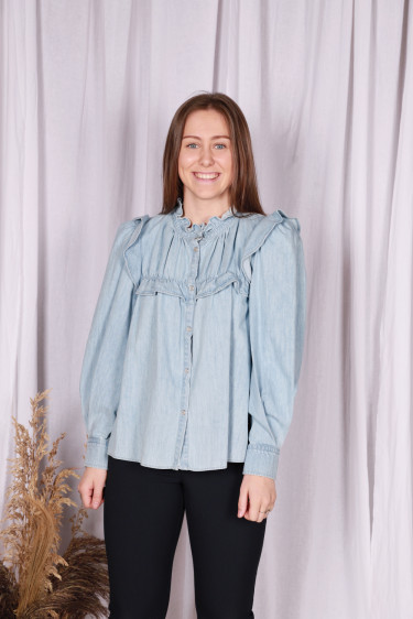 IDETY SHIRT LIGHT BLUE
