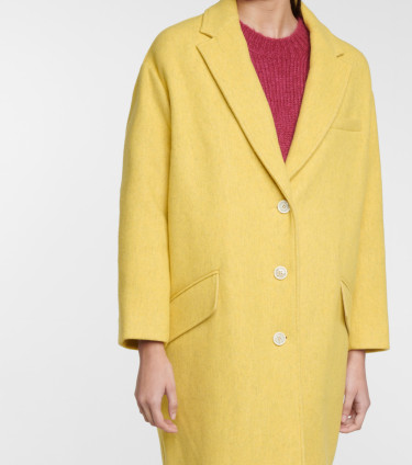 LIMI COAT YELLOW