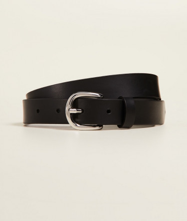 Zap Leather Belt Black