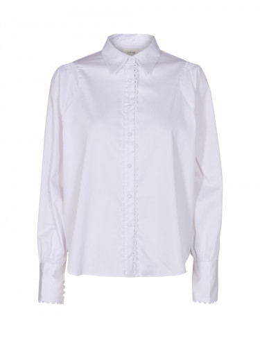 ISLA SOLID 19 Shirt White