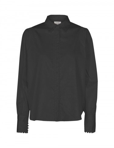 ISLA SOLID 19 Shirt Black