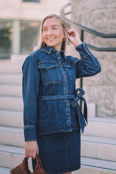 JOSETTE 1 denim shirt