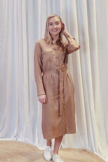 Isadora 1 Dress Caramel Nut