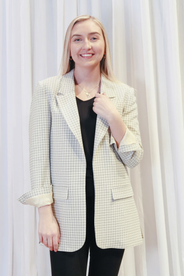 Isolde 1 Check Blazer