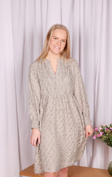 Milla Dress Gray