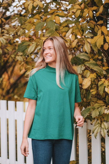 Lia t-shirt emerald green