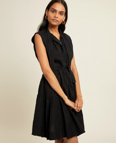 Nora Dress Noir