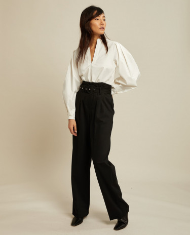 Rho Trousers Black
